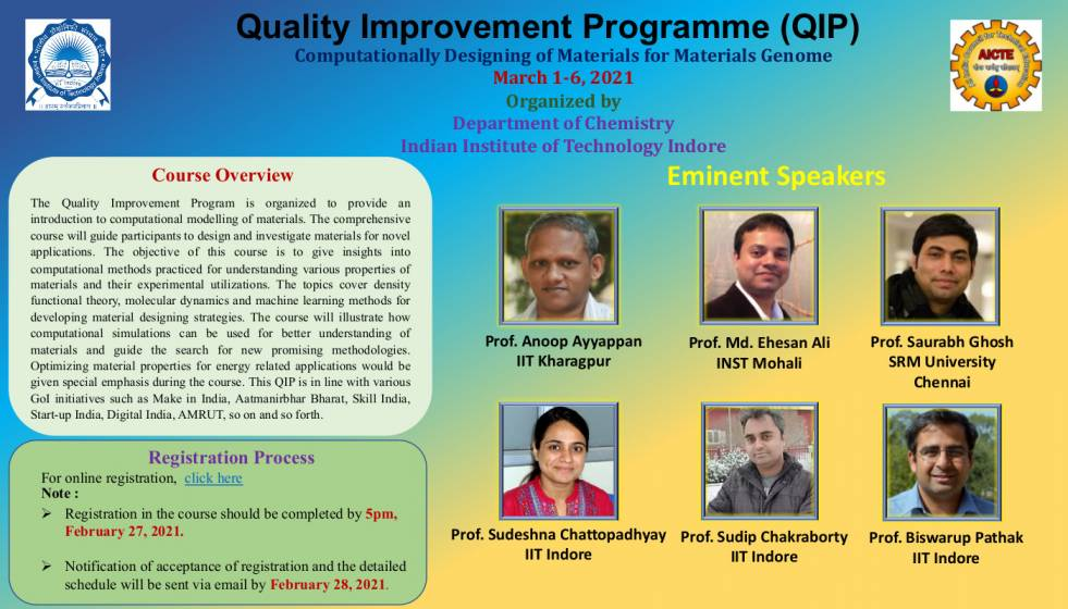Quality Improvement Programme (QIP)