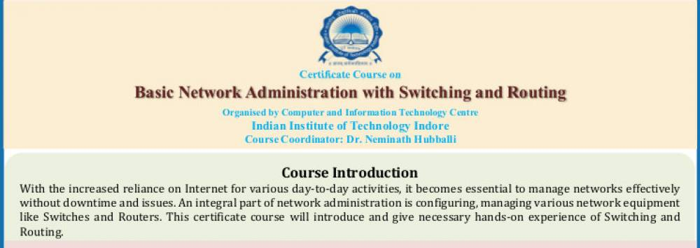 Certificate Course on