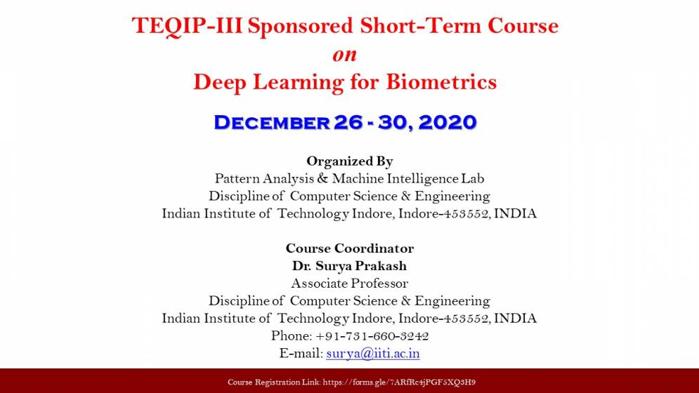 Short-Term Course on