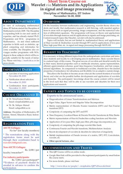 Short Term Course on