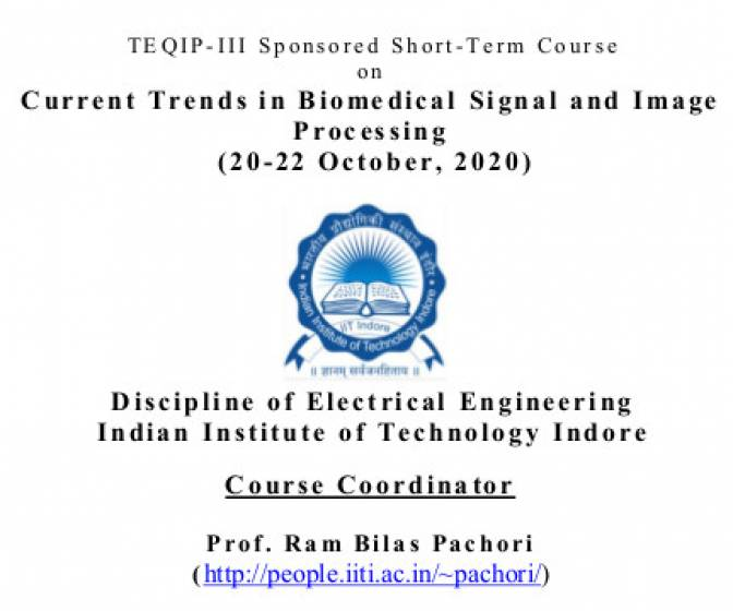 TEQIP - III Sponsored Short - Term Course